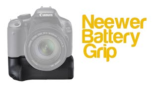 Neewer Battery Grip for Canon EOS 700D Rebel T5i | Review