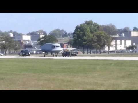 NMUSAF 4th Hangar Move - Tacit Blue Moving To Museum Photo Op