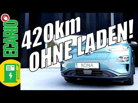 KONA ELEKTRO 420km OHNE LADEN  Wien Mnchen NONSTOP gnstiges E Auto mit hoher Reichweite