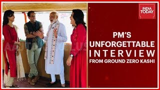 PM Modi In Conversation With Rahul Kanwal Anjana Om Kashyap Sweta Singh India Today Exclusive