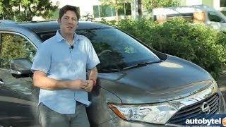 2014 Nissan Quest Test Drive & Minivan Video Review