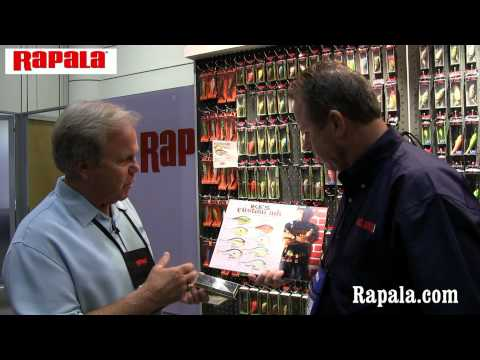 Mark Fisher of Rapala with Mark Lassagne of bass Angler Magazine at ICAST 2012
