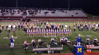 MHS Marching Band ft Pom Squad 9/29/17