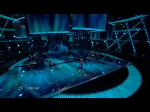 Eurovision 2009 Final: Estonia Live