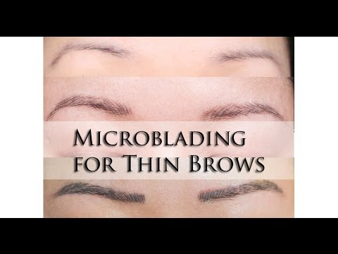 VLOG | Microblading Thin Brow Touchup + Neutralize | MsLaBelleMel