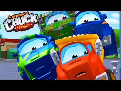 Приключения Чака и его друзей. Детские забавы. 3д #Мультики про #машинки для детей. #Мультфильмы