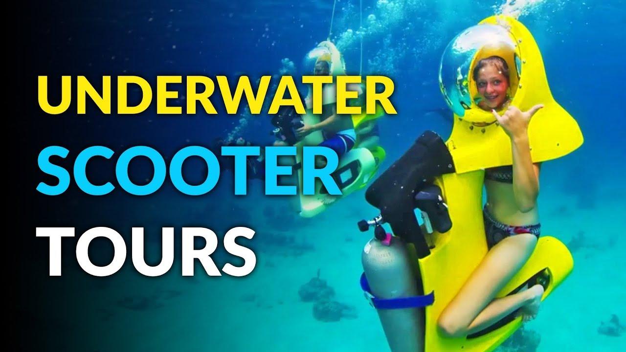 b118ba5e421c0 Scuba-Doo Underwater Scooter Tours - YouTube