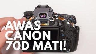20 Kamera CANON EOS 70D MATI!! hati-hati