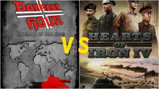 Hearts of Iron 4 vs Hearts of Iron 2(Darkest Hour) - Basic Comparison