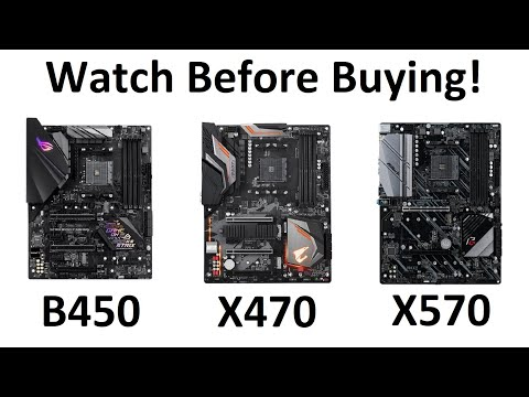 Amd X570 X470 B450 Which Motherboard Chipset Right For You Youtube