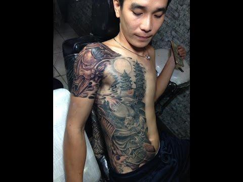 hình xăm mặt Quỷ  tin tattoo  xăm nghệ thuật cần thơ  0909667090