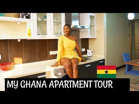 MY GHANA APARTMENT TOUR 2019