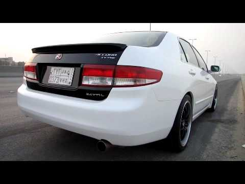 Honda accord 2 4 mt acceleration 0 200 youtube for 200 honda accord