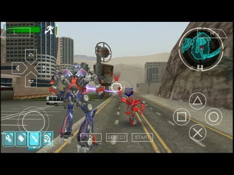 Cara Download Transformers The Game PPSSPP Android
