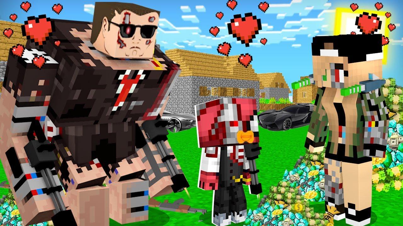 FAKİR TERMİNATÖR BEBEĞİ OLDU! 👶 - Minecraft