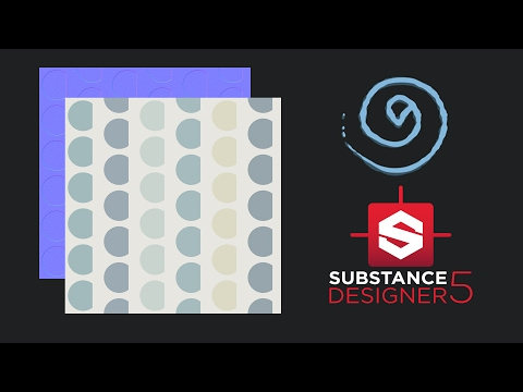 Substance designer Creating a simple  texture wallpaper