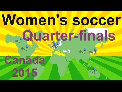 Fifa women's world cup canada 2015 - quarter-finals summary - women's soccer