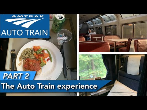The Amtrak Auto Train experience PART 2