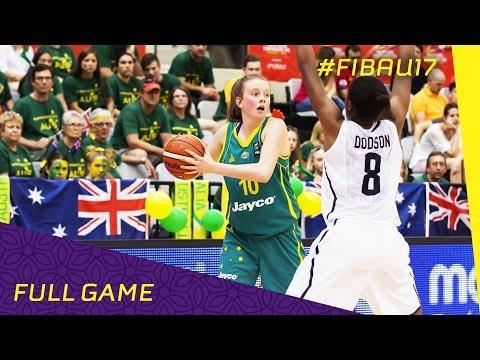 USA v Australia - Semi Final - Full Game - FIBA U17 Women's World Championship 2016