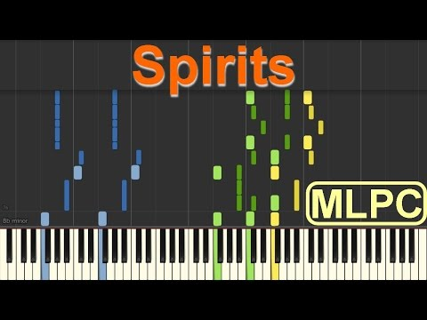 The Strumbellas - Spirits I Piano Tutorial By MLPC