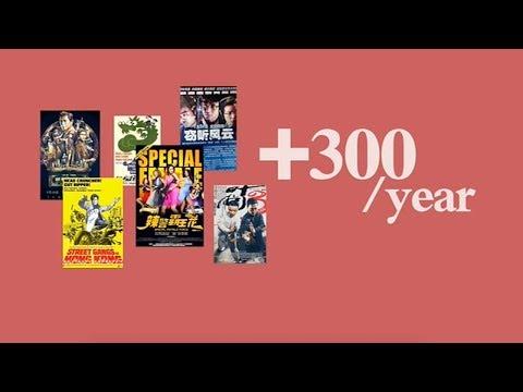 A sneak peek of Hong Kong's record-breaking film industry