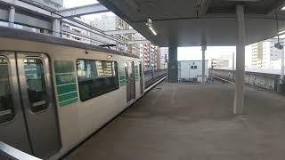 横浜市営地下鉄グリーンライン10000形普通中山行き センター北駅にて