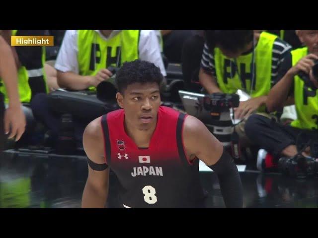 【ハイライト】バスケ男子日本代表・国際試合 日本 vs アルゼンチン(2019.8.22)