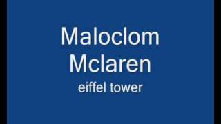 Malcolm Mclaren - eifelltower
