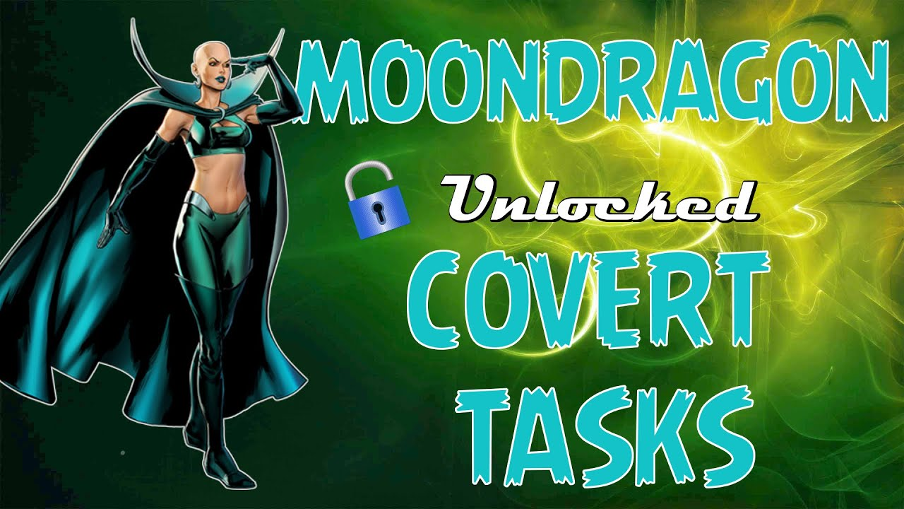 marvel avengers alliance moondragon unlocked and in