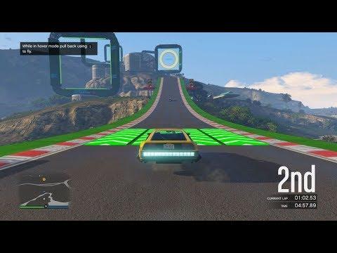 قراند 5 : سباق سيارات طائرة   GTA Flaying Car Racing