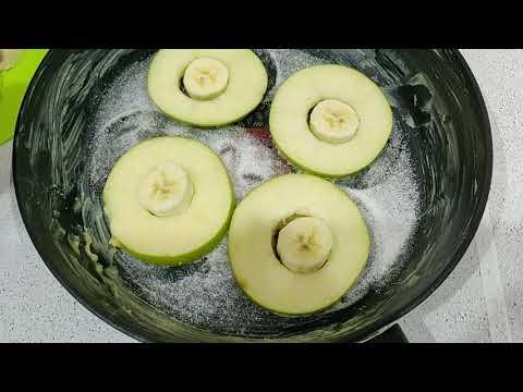 prenez-1-pomme-et-1-banane-et-faites-ce-délicieux-gateau