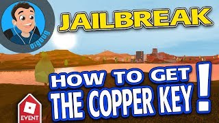 How to get the Copper Key in Roblox Jailbreak! Roblox Ready Player One Event!