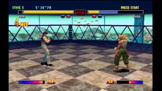 Bloody Roar 2 - Yugo gameplay