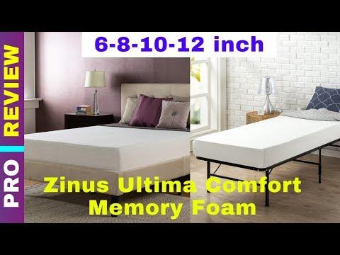 Zinus Ultima Comfort Memory Foam Review