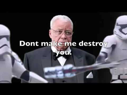 James Earl Jones Thinks about someone