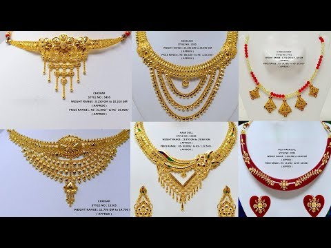 latest-light-weight-gold-necklace-designs-with-weight&price