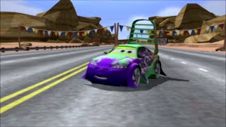 Cars 1 Story Mode Wingo Boss Race Gameplay Walkthrough HD