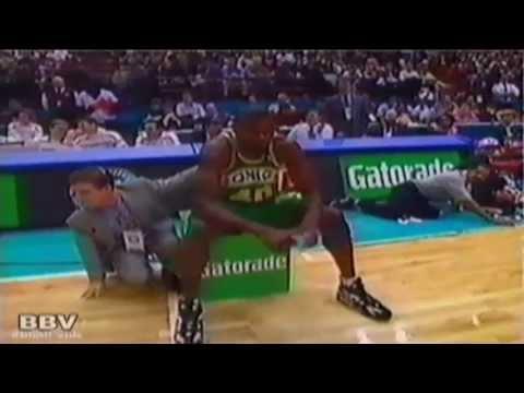 Shawn Kemp - 1994 NBA Slam Dunk Contest