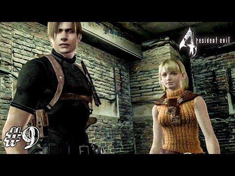 ПРИЗЕМЛИЛАСЬ НА ПОПКУ! ► Resident Evil 4 Прохождение #9 ► ХОРРОР ИГРА