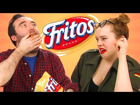 Irish People Taste Test Fritos For The First Time