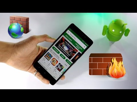 Get Firewall On Android | Without Being Rooted