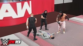 WWE 2K19 Custom Story - The Shield Unleashes On McMahon Family Raw 2019 ft. Rollins, Reigns - PART 6