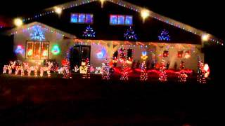 Jingle Bell Rock - Christmas Lights 2012 Newfoundland