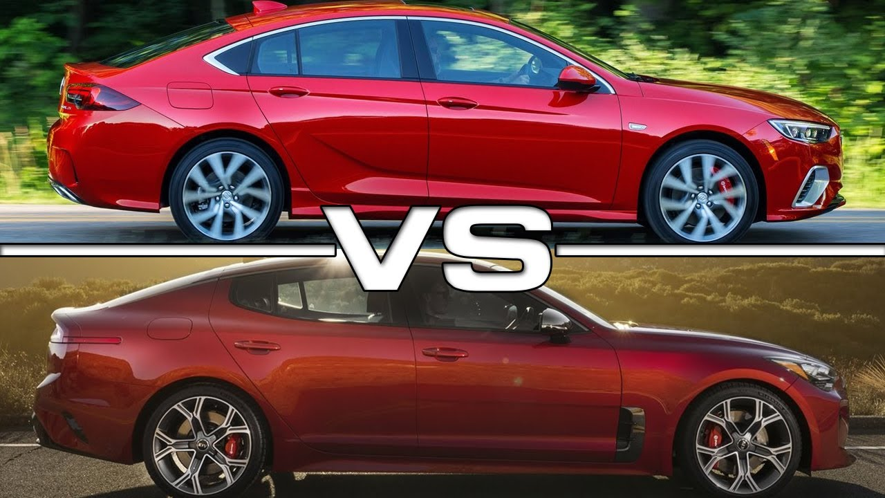 2018 Buick Regal GS vs 2018 Kia Stinger GT - YouTube