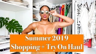 NEW IN: Summer 2019 Shopping + Try On Haul | MONROE STEELE