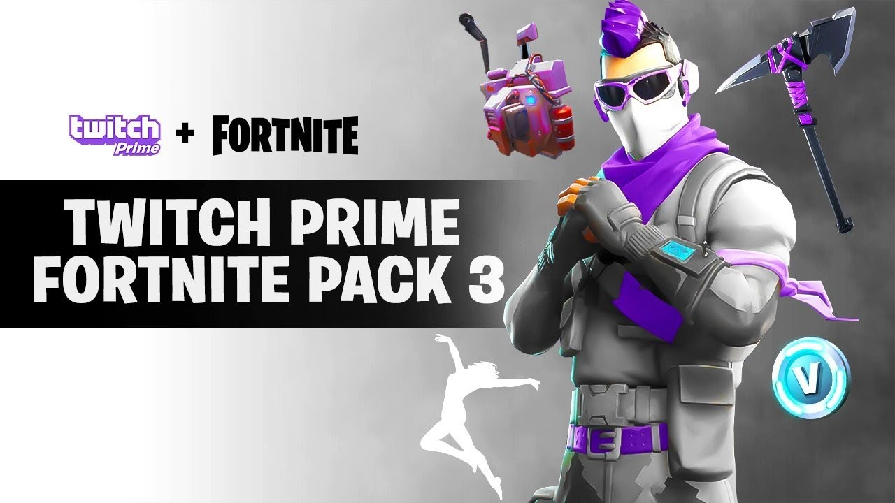 Comment Avoir Le Skin Twitch Prime Fortnite