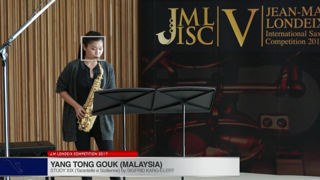 Londeix 2017 - Yan Tong Gouk (Malaysia) - XIX Tarantelle e Sizilienne by Sigfrid Karg Elert