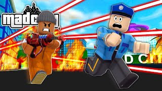 NEW *DEATH RAY GUN* IN ROBLOX MAD CITY!! (Roblox Livestream)