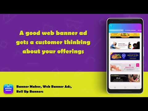 Banner Maker, Web Banner Ads, Roll Up Banners