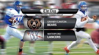 Granby/Canton at Waterford CIAC Class M football quarterfinal